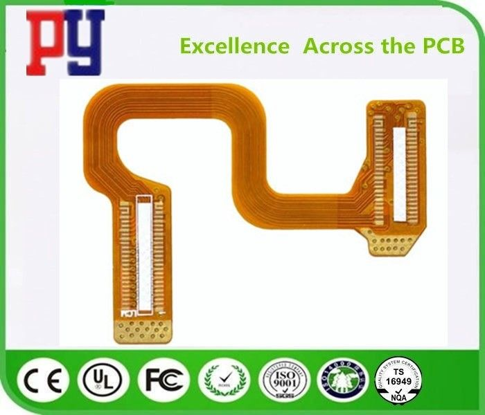 Polyimide Rigid Flex PCB Fr4 Base Material HASL Lead Free Surface Finishing