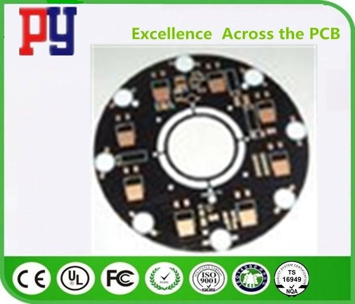 1.2MM Thickness LED PCB Board , Rigid Printed Circuit Boards Immersion Gold Fr4